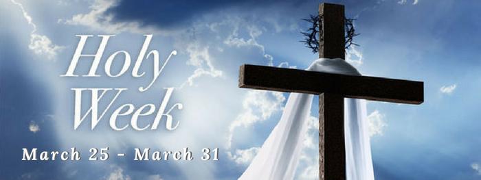 holyweek 2018 – 1
