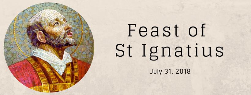 Feast of St Ignatius