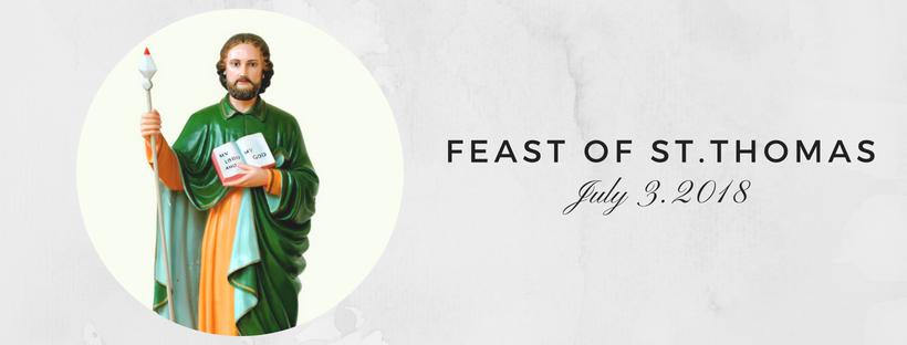 feast of St Thomas